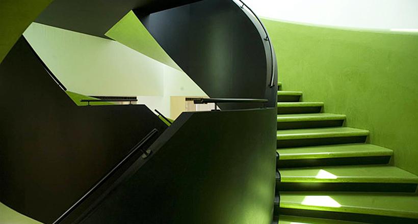 IFAD Headquarters, Rome, Italy, Sartogo Architetti Associati, Daniele Petteno Project Architect, 2005-2006.