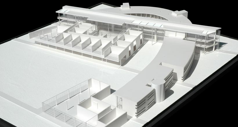 University Buildings, Bologna, Italy, Sartogo Architetti Associati, Daniele Petteno Project Architect, 2003-2004.