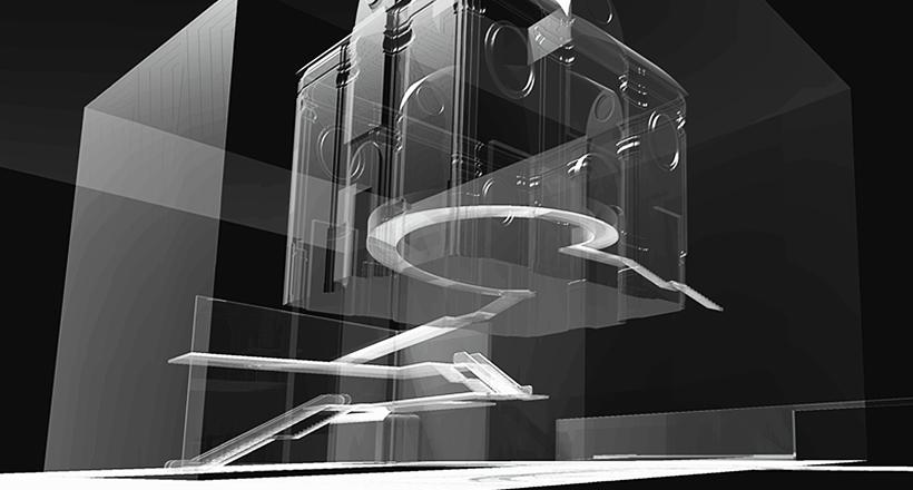 Bologna City Museum, Bologna, Italy, Sartogo Architetti Associati, Daniele Petteno Architect, 2003.