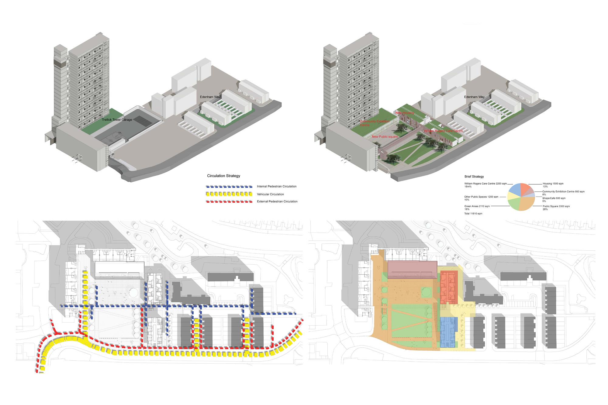 Tower Of London Floor Plan Trellick Tower Masterplan Dpaw